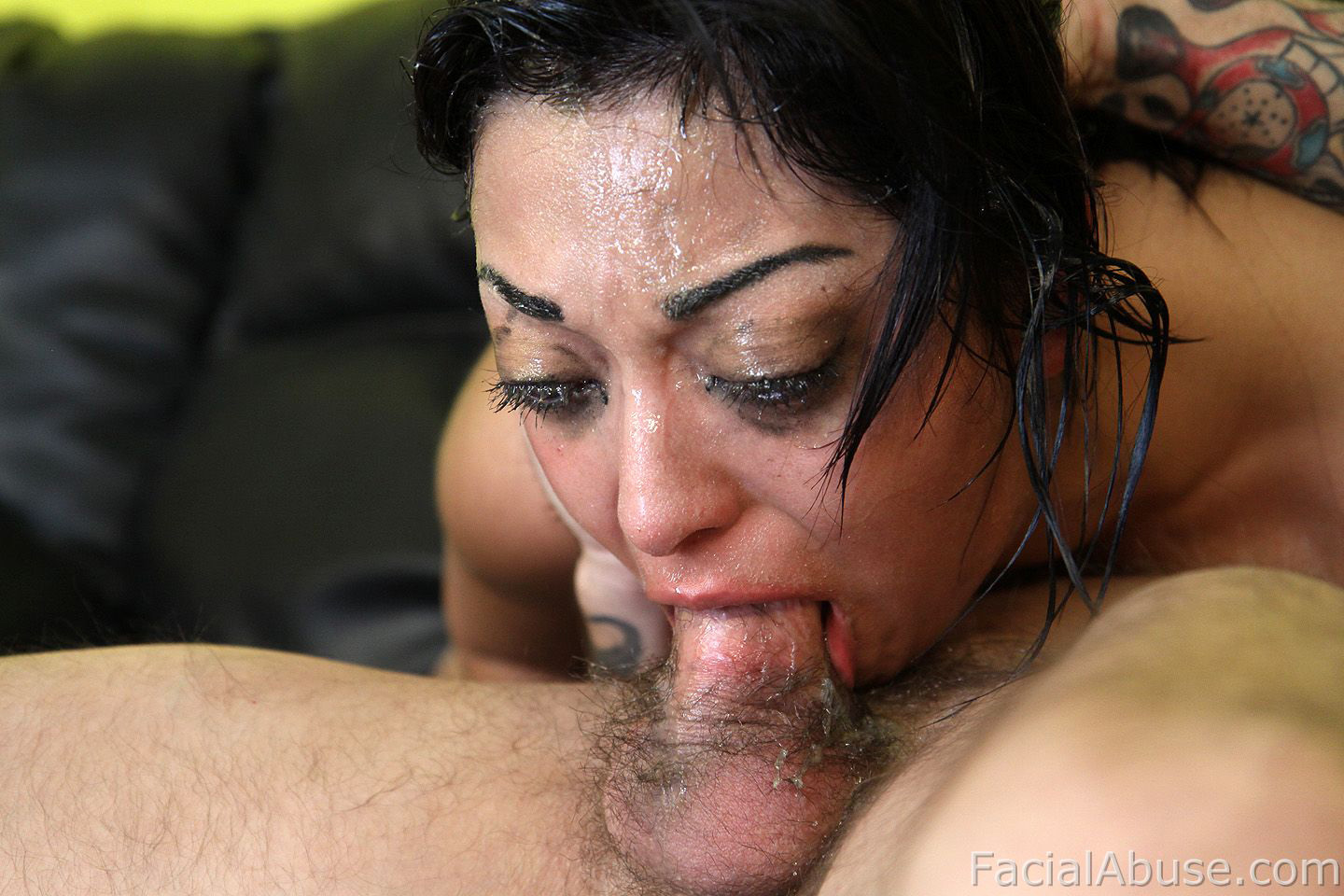 Facial abuse porn
