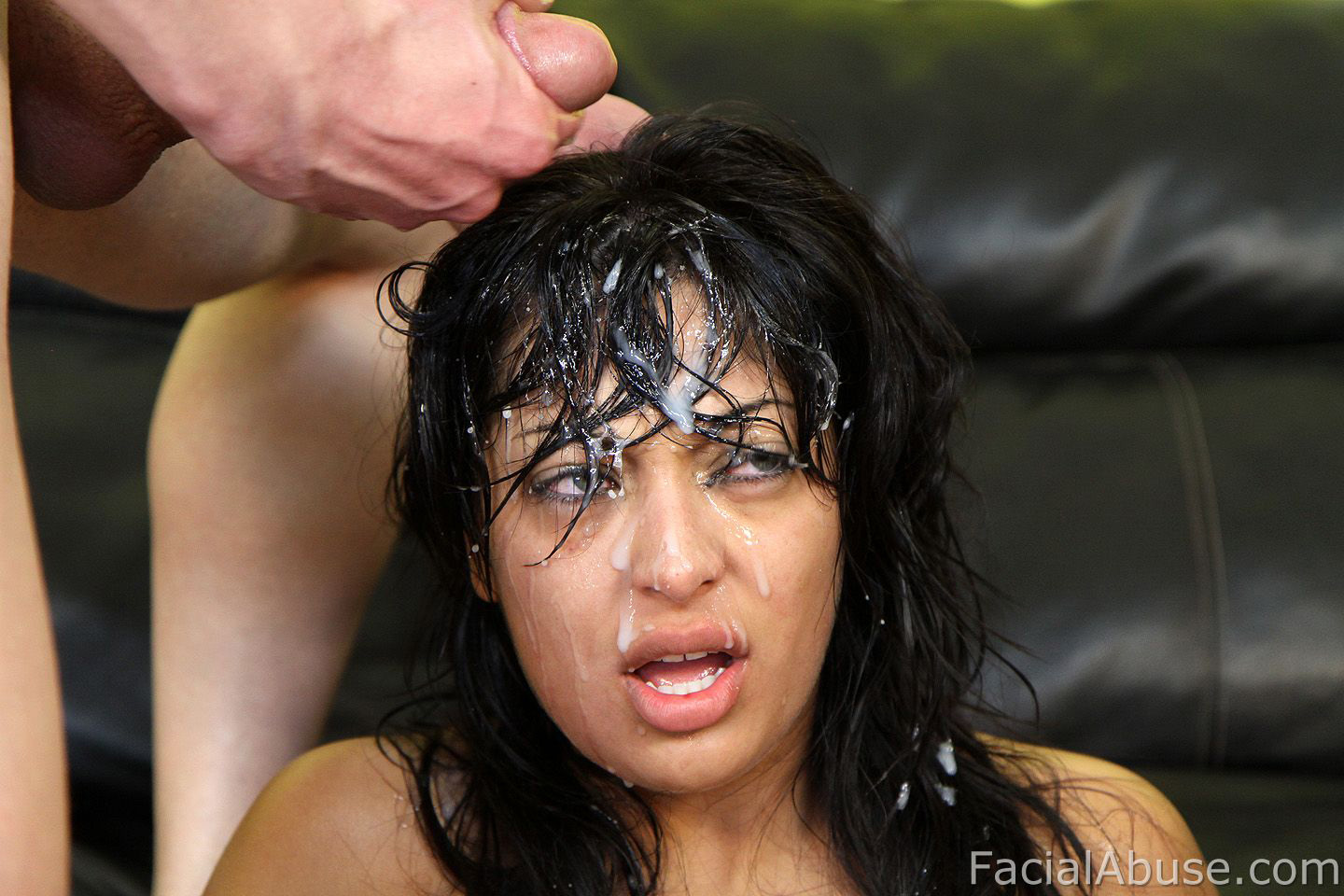 image Extreme face fucking for dirty hippy first timer